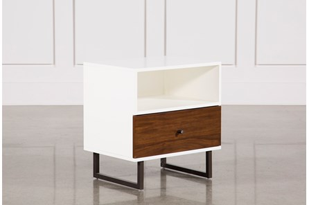 Clark 1-Drawer Nightstand - Main