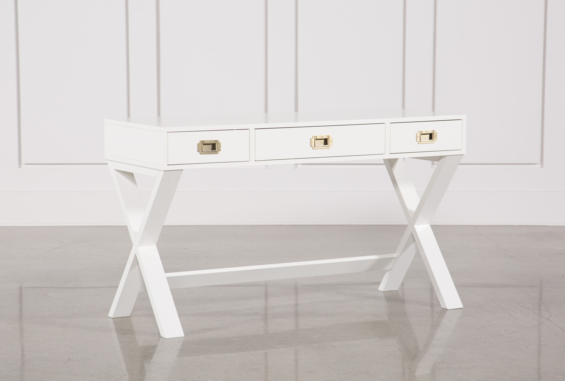 Good Adams White Desk (Qty: 1) Has Been Successfully Added To Your Cart.