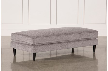 Cosmos Grey Cocktail Ottoman - Main