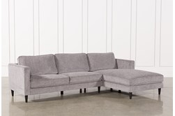 Cosmos Grey 2 Piece Sectional With Right Arm Facing Chaise