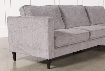 Super Cosmos Grey 2 Piece Sectional With Right Arm Facing Chaise Alphanode Cool Chair Designs And Ideas Alphanodeonline