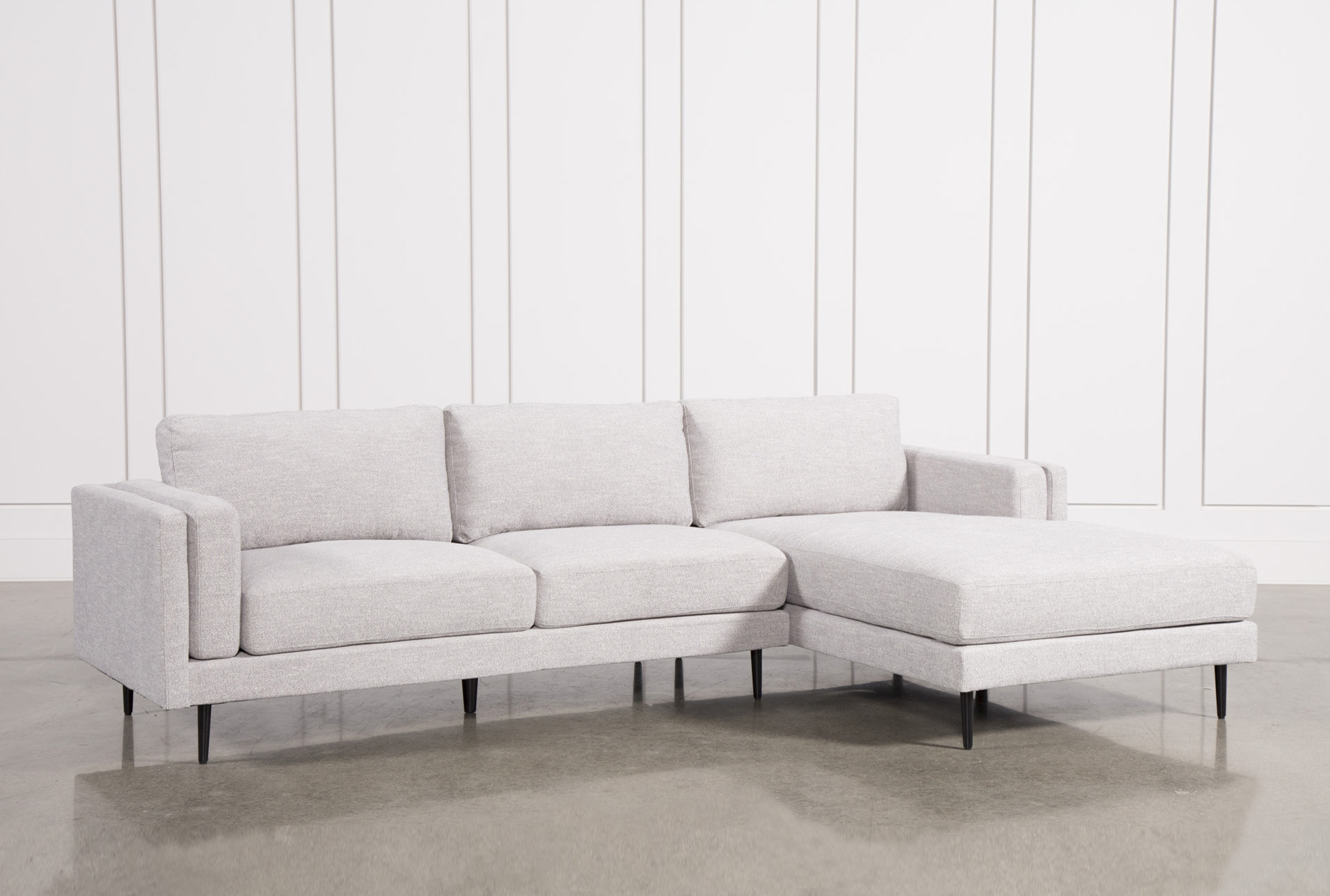 Genial Aquarius Light Grey 2 Piece Sectional W/Raf Chaise (Qty: 1) Has Been  Successfully Added To Your Cart.