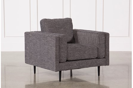 Aquarius Dark Grey Chair - Main