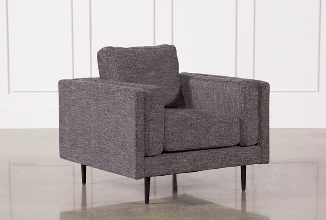 Aquarius Dark Grey Chair - 360
