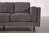 Aquarius Dark Grey Sofa - Right