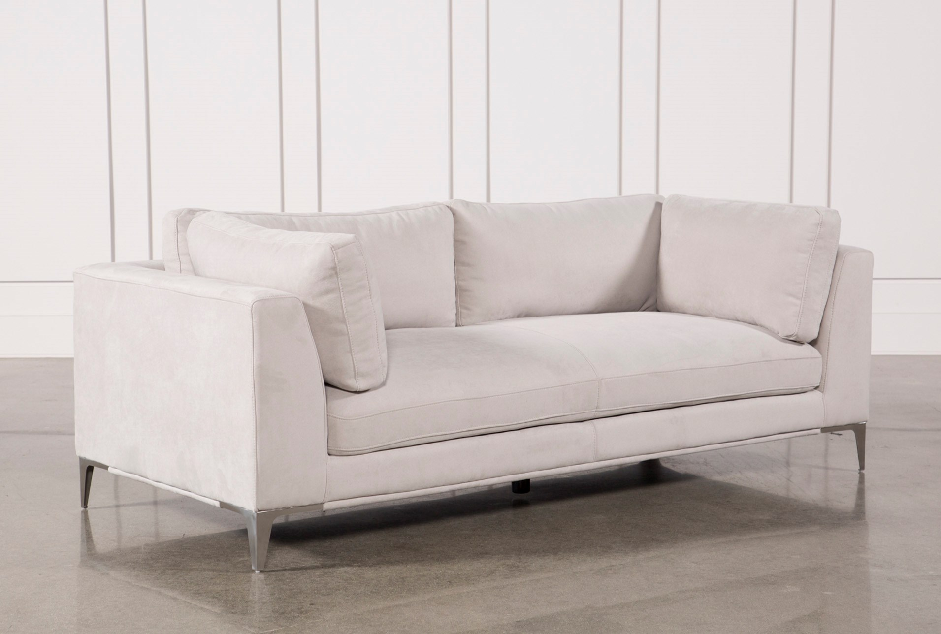 Apollo Light Grey Sofa W 2 Pillows Qty 1 Has Been Successfully Added To Your Cart