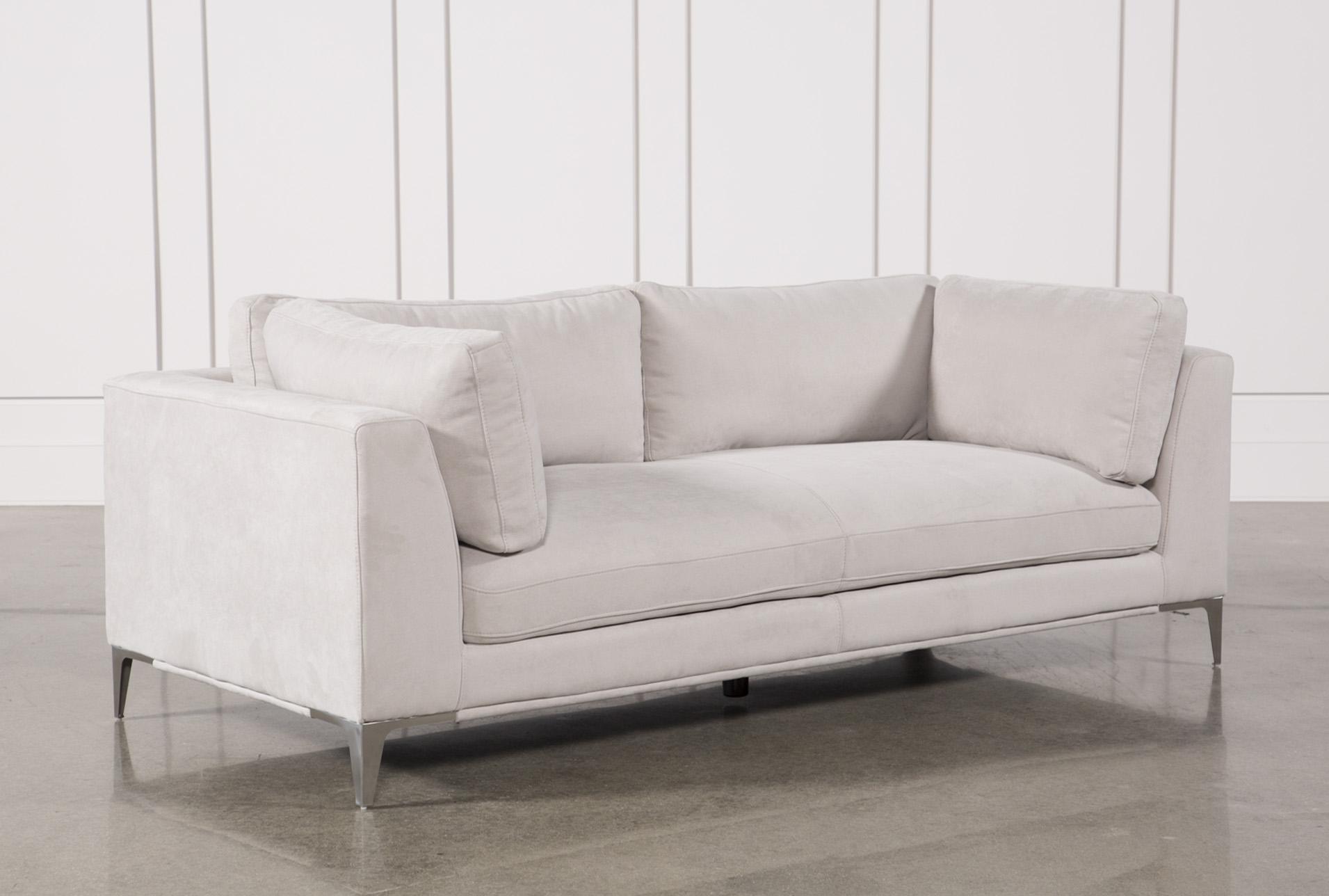 Apollo Light Grey Sofa W/2 Pillows