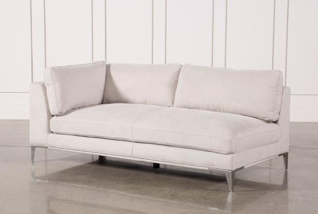 Apollo Light Grey Left Facing Sofa - 360
