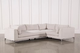 Apollo Light Grey 2 Piece Sectional