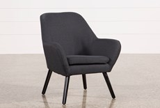 Mercury Dark Grey Accent Chair