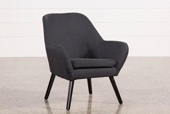 Mercury Dark Grey Accent Chair