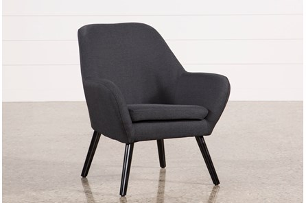 Mercury Dark Grey Accent Chair - Main