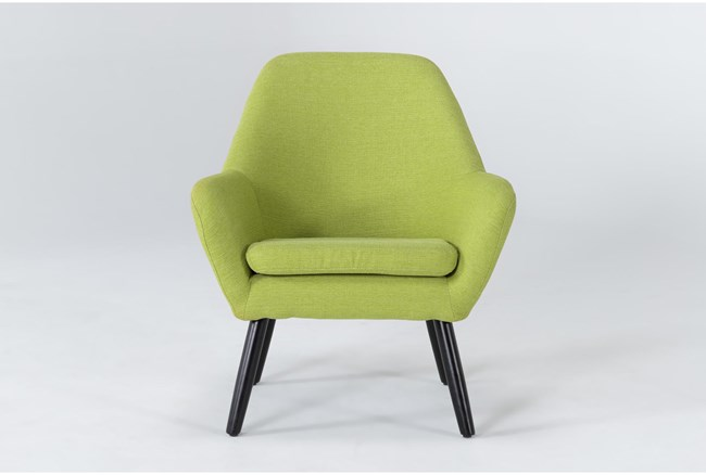 Mercury Lime Accent Chair - 360
