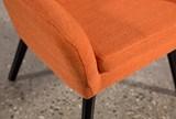 Mercury Mandarin Accent Chair - Top
