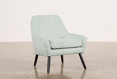 Celeste Aqua Accent Chair