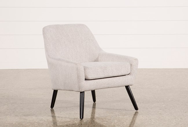 Celeste Light Grey Accent Chair - 360