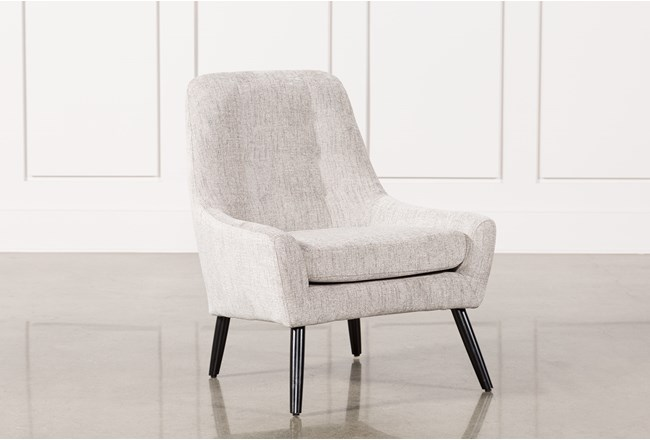 Living Spaces Accent Chairs : Bianca Marble Accent Chair  Living Spaces