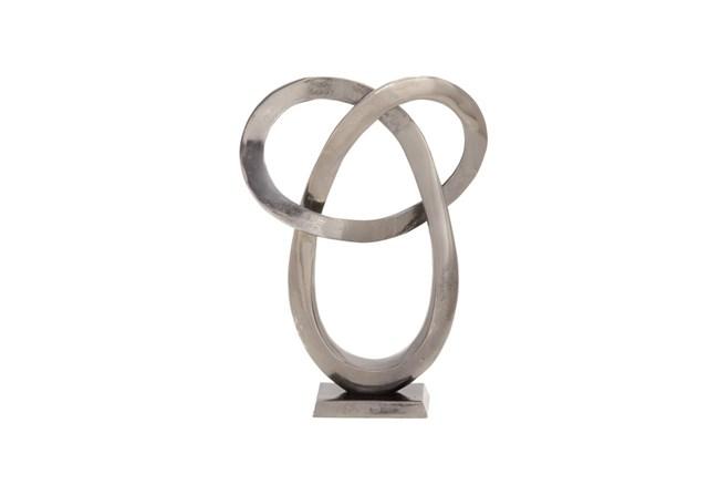 17 Inch Silver Sculpture - 360
