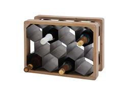 18 Inch Mixed Material Wine Holder