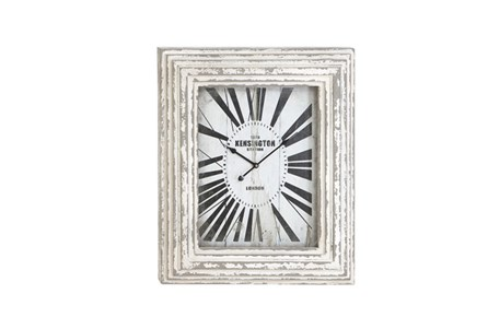 28 Inch White Kensington Wall Clock