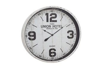 35 Inch Union Hotel Wall Clock