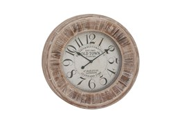 31 Inch Old Town Wall Clock