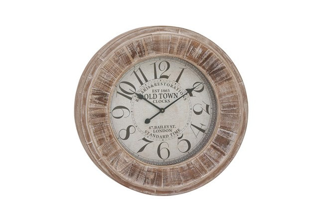 31 Inch Old Town Wall Clock - 360