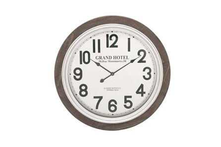 31 Inch Grand Hotel Wall Clock - Main
