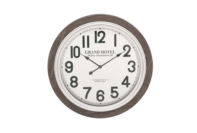 31 Inch Grand Hotel Wall Clock - 360