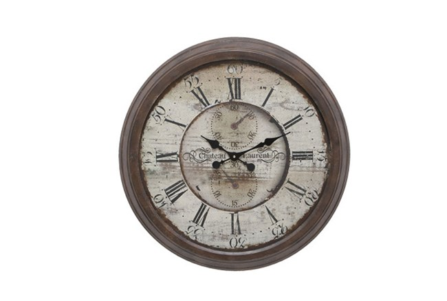 28 Inch Chateau Laurent Clock - 360