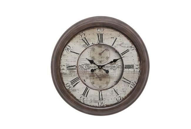 28 Inch Chateau Laurent Clock - 360