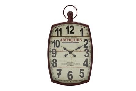 33 Inch Mixed Media Wall Clock