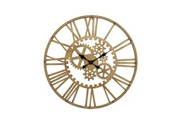 32 Inchgold Gear Wall Clock