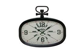 16 Inch Kensington Black Wall Clock