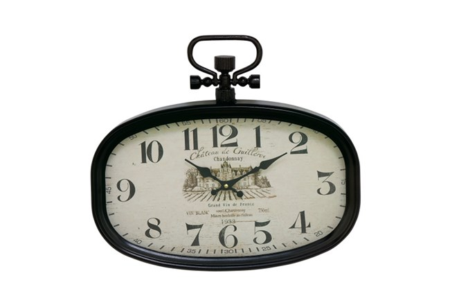 16 Inch Chateau Wall Clock - 360