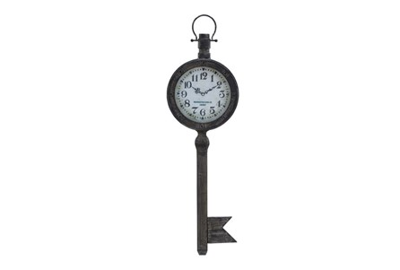 37 Inch Metal Key Clock
