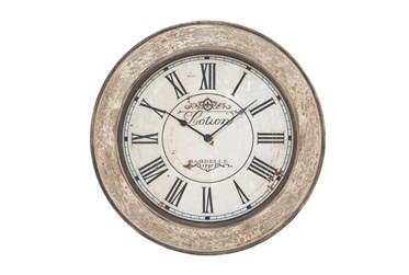 24 Inch Lotion Wall Clock