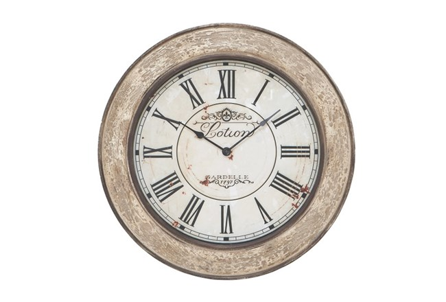 24 Inch Lotion Wall Clock - 360