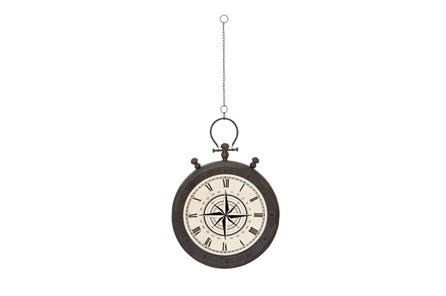 49 Inch Compass Wall Clock - Main