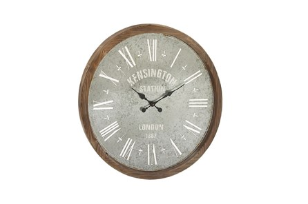 32 Inch Kensington Media Wall Clock