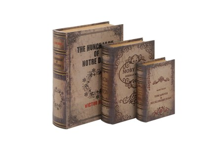 3 Piece Set The Classics Book Box - Main