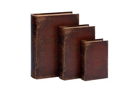 3 Piece Set Curiosity Book Box