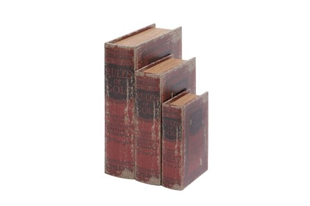 3 Piece Set Rules Of Golf Book Box - Main
