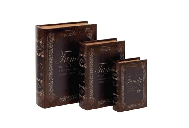 3 Piece Set Family Book Box - 360