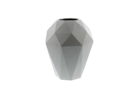 12 Inch Grey Prizm Vase