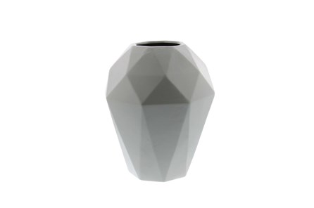12 Inch Grey Prizm Vase - Main