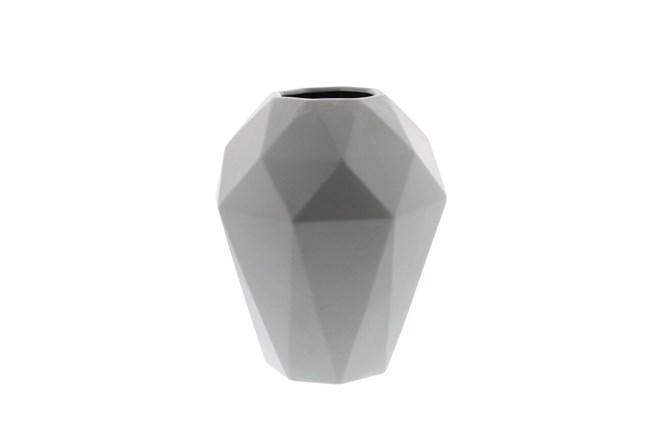 12 Inch Grey Prizm Vase - 360