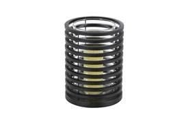 10 Inch Metal Cylinder Candleholder
