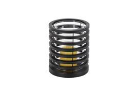 8 Inch Metal Cylinder Candleholder