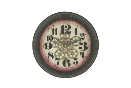 18 Inch Adventure Gear Wall Clock
